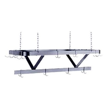 "Advance Tabco SC-60 - Pot Rack, ceiling hung, triple bar design, 60""W x 22""D, co"