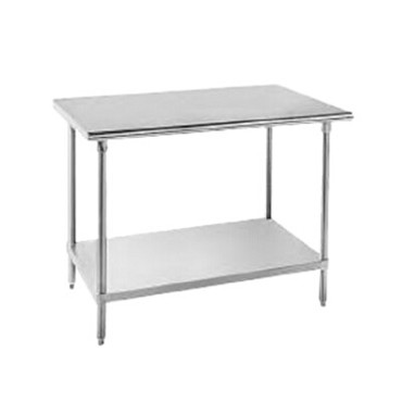 Advance Tabco SAG-244 - Work Table, 48'W x 24 inch, 16 gauge 430 series stainless steel