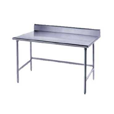 Advance Tabco TSKG-246 - Work Table, 72 x 24 inch, 16 gauge 430 stainless steel