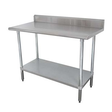 Advance Tabco KLAG-243-X - Work Table, 36 x 24 inch, 16 gauge 430 series stainless steel