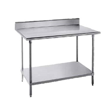 Advance Tabco SKG-306 - Work Table, 72 x 30 inch, 16 gauge 430 series stainless steel