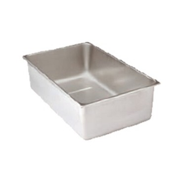 "Advance Tabco SP-S-X - Spillage Pan, 12""W X 20""D X 6-1/4""H, stainless steel"