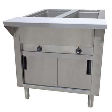 Advance Tabco SWEDR Hot Food Table - Electric hot food table