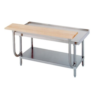 "Advance Tabco TA-926 - Cutting Board, 72""W x 10""D x 1-1/2""H, for equipment stand"