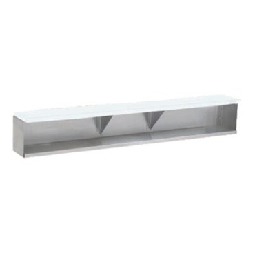 "Advance Tabco TDS-5 - Dish Shelf, 77.75"" long, add-on, requires cutting board"