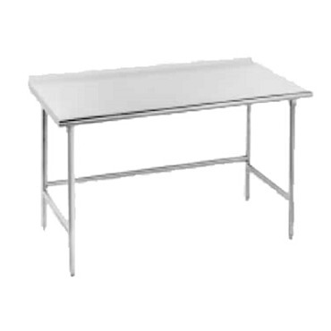 Advance Tabco TFMS-369 - Work Table, 108 x 36 inch, 16 gauge 304 series stainless steel