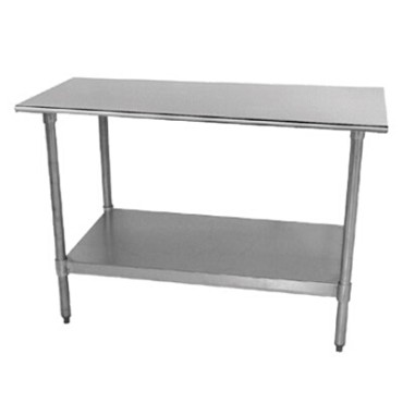 Advance Tabco TT-305-X - Lite Series Work Table, 60 x 30 inch, 18 gauge 430 stainless steel