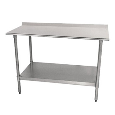 Advance Tabco TTF-305-X - Lite Work Table, 60 x 30 inch, 18 gauge 430 stainless steel