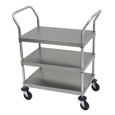 Advance Tabco UC-3-1827 - Utility Cart, open design, three shelves, shelf size approx. 18""