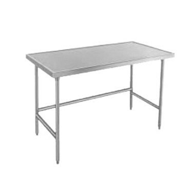 Advance Tabco TVSS-304 - Work Table, 48 x 30 inch, 14 gauge 304 series stainless steel