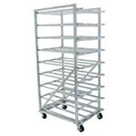 Advance Tabco CR10-162M - Can Rack, mobile design with casters, with sloped glid