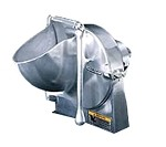 Alfa GS-22 - Polished Aluminum Grater/Shredder Attachment, #22 Hub