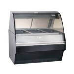 Alto-Shaam TY2SYS-48/P-BLK - Heated Deli Display Case w/Low Profile Base, 48 in.