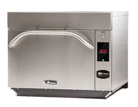 Amana AXP22T - Commercial Express Radiant/Convection/Microwave Oven, 3K/2K/2K Watts