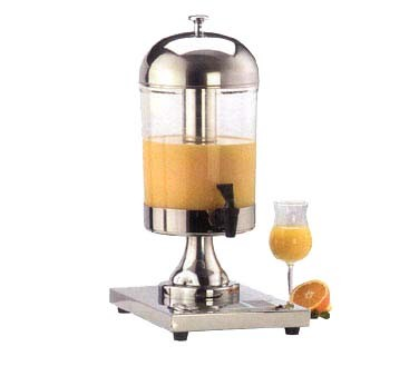American Metalcraft JUICE1 - Single Style Juice Dispenser w/Ice Container, 8-1/2 qt.