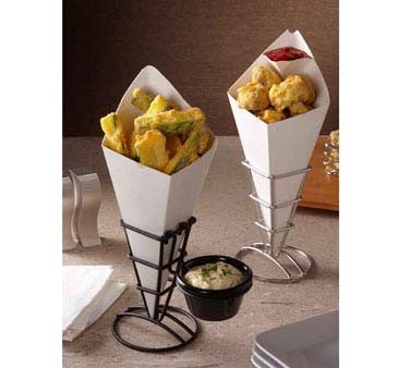American Metalcraft SQFBBL - Fry Cone Holder, 2-1/2 in. (Sold per case of 48 each)