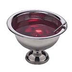 American Metalcraft HMPB12 - SS Punch Bowl, 8 qt., Hammered Finish
