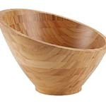 American Metalcraft BAMSL92 - Bamboo Bowl, 48 oz., (Case of 6)