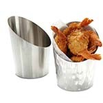 American Metalcraft FFHM45 - SS French Fry Cup, 12 oz.(72 per case)