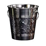 American Metalcraft WB9 - SS Wine Bucket, 8-3/8in, Hammered Finish (Sold per case of 12 each)