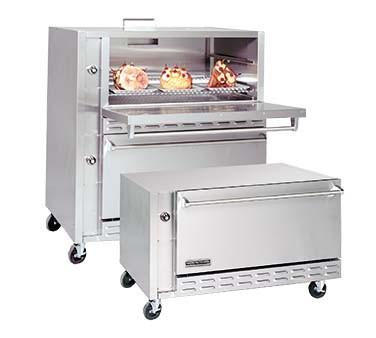"American Range ARLM-1NG - Restaurant Type Single Deck Lamb Oven, natural gas, one 42"" wide x 33.5"" deep x 17"" high cavity"