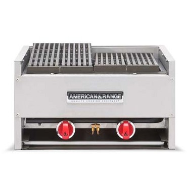 "American Range AECB-44LP - Charbroiler, counter model, liquid propane, 44"" wide"