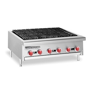 "American Range AERB-48 - Charbroiler, Gas, Counter Model, 48"" wide"