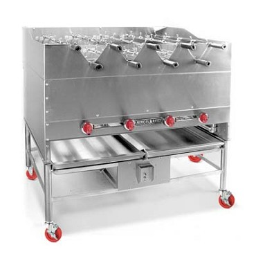 "American Range AHSR-48NG - Horizontal Broiler with Rotisseries Built-In, natural gas, 48"" wide"