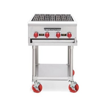 "American Range ARRB-48NG - Charbroiler, counter model, natural gas, 48"" wide"