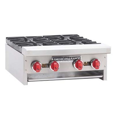 "American Range ARHP-24-4NG - Hotplate, counter unit, natural gas, 24"" wide"