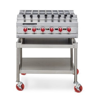 "American Range ARKB-72 - Kebob Broiler, counter model, gas, 72"" wide"