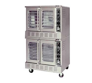 American Range M-2 - Bakery Depth Convection Oven, Gas, (2) Solid Doors