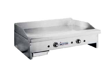 "American Range ARTG-124NG - Griddle, counter unit, natural gas, 24"" wide"