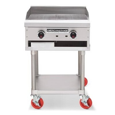 "American Range ARTGG-60NG - Griddle, counter unit, natural gas, 60"" wide"