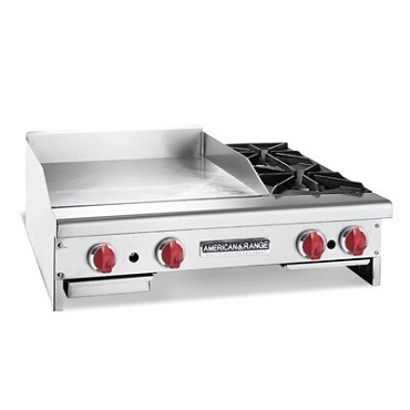 American Range AR48-36TG2OBLP - Griddle/Hotplate, counter unit, gas
