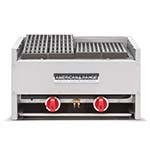 American Range AECB-34 - Charbroiler, counter model, gas, 34