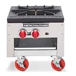 American Range SPSH-18-2 - Stock Pot Range, Gas 2 Three Ring Burners