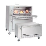 American Range ARLM-2NG - Restaurant Type Double Deck Lamb Oven, natural gas, two 42