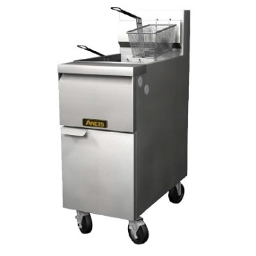 Anets 14GS-2FM - GoldenFry Fryer Battery w/Filter Mate Filter System, (2) 35-50 lb. capacity tanks