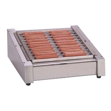 Antunes HDC-20RC - Hot Dog Grill, heat thermostatically controlled, thermostat in b