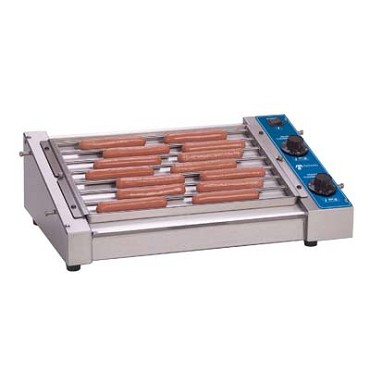 Antunes HDC-21A - Hot Dog Grill, dual heat thermostatically controlled, holds up t