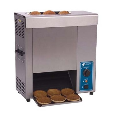 Antunes VCT-25-9200620 - Vertical Contact Toaster w/two-sided heated platen, countertop