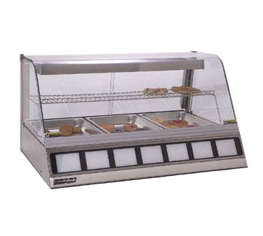 "Antunes DCH-300 - Heated Display Cabinet, holds (3) full size pans 2-1/2"" deep, s/"
