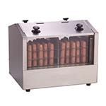 Antunes HDH-3DR - Hot Dog Hutch, two side-by-side hot dog steamer compartments, ca
