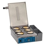 Antunes ES-604 - Egg Station, cooks with heat/steam combination, cooks max 6 eggs