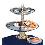 Apex CLA18-14-G - 2-Tiered Classic Food Display