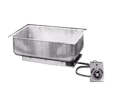 "APW BM-30D UL - Hot Food Well, built-in, (1) 12"" x 20"" pan, uninsulated, with drain, UL"