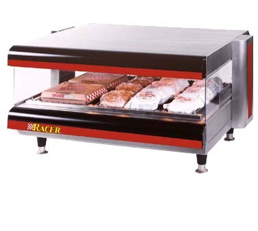 "APW DMXS-60H - Heated Merchandiser, Horizontal Countertop, 60"", (1) shelf"