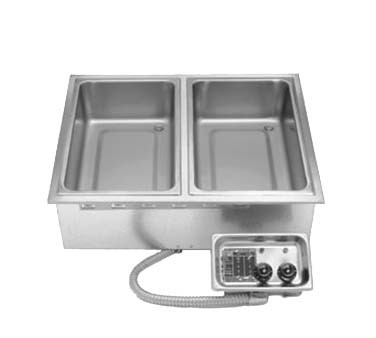 APW HFW-3D - Hot Food Well Unit, Drop-in, EZ lock, Electric, insulated, indiv