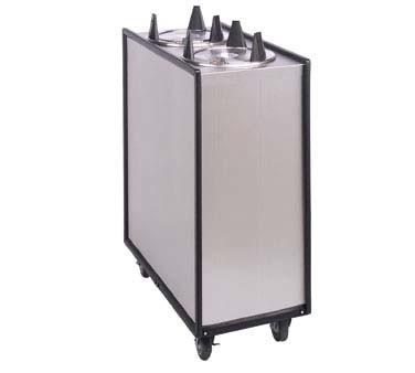 "APW ML2-5 - Dish Dispenser, mobile, enclosed, (2) tubes, up to 5"" diameter"